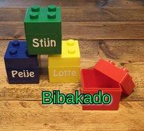 Legodoosje met naam