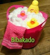 Luiertaart badkuip
