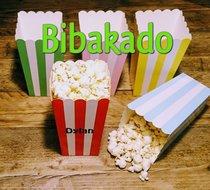 Popcornbakje met naam